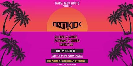 7-13 DROPKICK at Tampa Bass Nights tickets