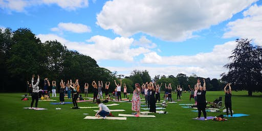 Movement + Mindfulness, Flow yoga in the Castle Yard (14+)