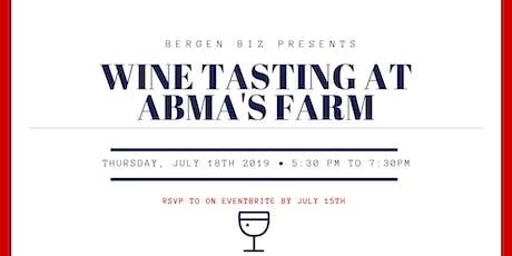 Wine Tasting at Abma's Farm tickets