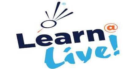 Learn@Live! Thursday Workshops