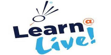 Learn@Live! Wednesday Workshops