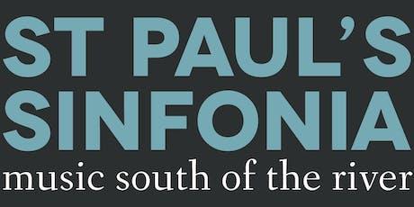 St Paul's Sinfonia 19/20 Season Ticket tickets
