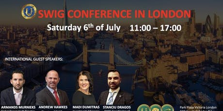 SWIG Conference in London City (FREE EVENT) tickets