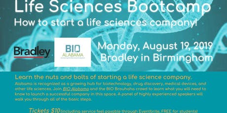 Life Sciences Bootcamp - How to start a life sciences company! tickets