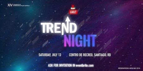 Trend Night tickets