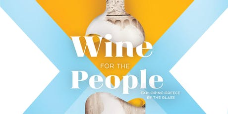 Wine for the People: It's all Greek to me! tickets