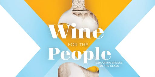 Wine for the People: It's all Greek to me!