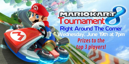 Mario Kart Tournament at Right Around The Corner
