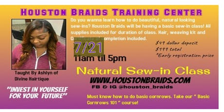 Natural Sew-in Class! tickets
