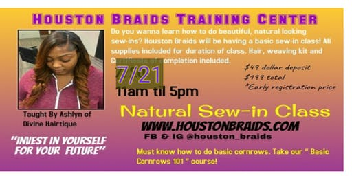 Natural Sew-in Class!