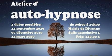 Apprenez l'auto-hypnose à Divonne 01220 le 7 décembre 2019 billets