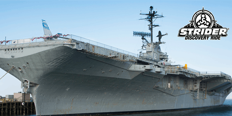 Strider Discovery Ride - USS Hornet 2019-09-14 tickets