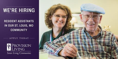 Hiring Event at Provision Living West County tickets