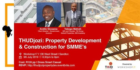 THUDjozi: Property Development & Construction for SMME's tickets