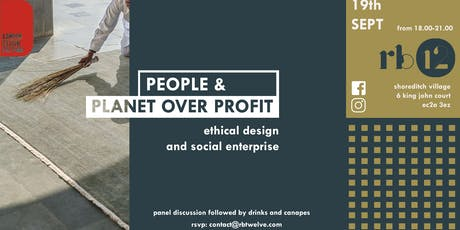 People and Planet Over Profit tickets