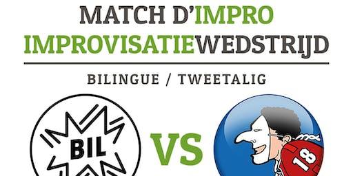 Match d'IMPRO bilingue Daardaar - 11/07 - Bruxelles