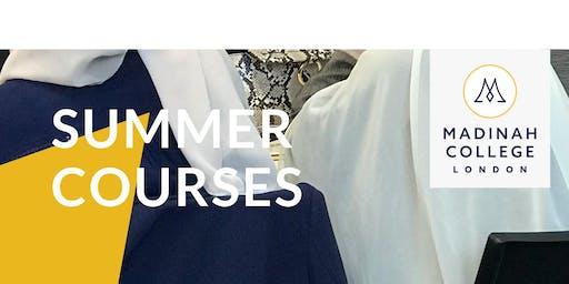 Summer Course: Arabic Grammar