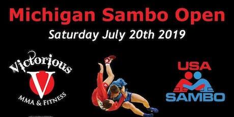 2019 Michigan Sambo Open tickets