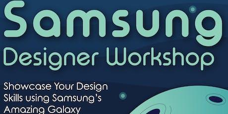 Samsung Designer Workshop July 24th Miami International University of Art & Design tickets