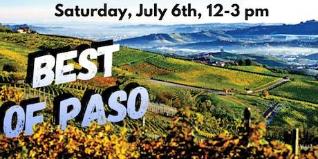Saturday Samplings:Best of Paso tickets