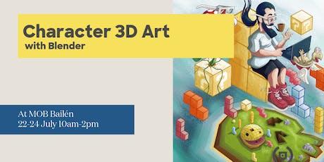Introducción al Character Art 3D mobile con Blende entradas