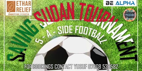 SavingSudan Football Tournament tickets