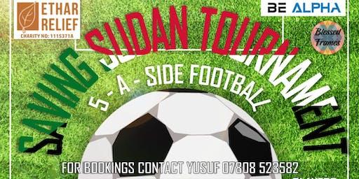 SavingSudan Football Tournament