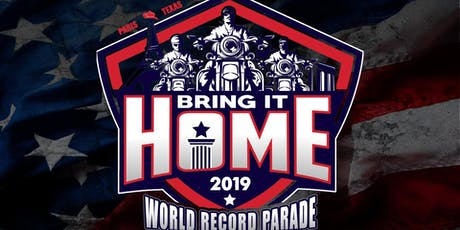 Bring It Home World Record Parade 2019 tickets