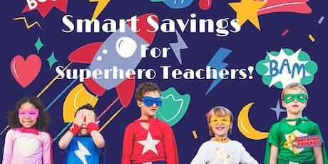 JBF Superhero Teacher Pass tickets