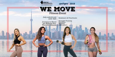 We Move Fitness Event tickets