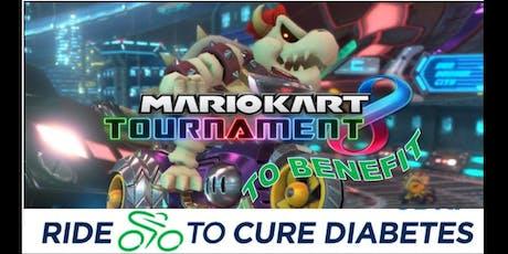 Nintendo Switch Mario Kart Tournament for JDRF tickets