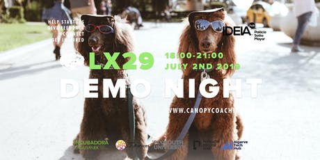 #DemoNightLx29 - with Ideiahub  tickets