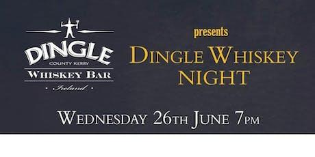 Dingle Whiskey Night tickets