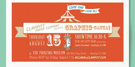 Clampitt Graphic-Ganza // Sappi Road Show tickets
