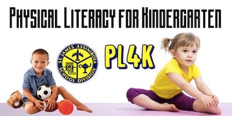 Physical Literacy for Kindergarten billets