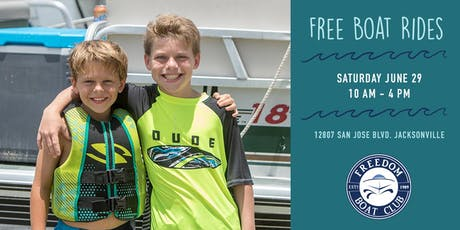 Freedom Boat Club Jacksonville Open House tickets