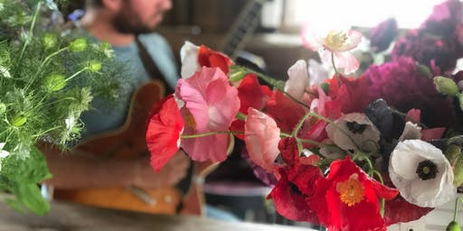 Sessions at the 'Bouquet Bar:' Tunes & Blooms at Tiny Hearts