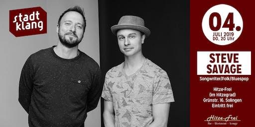 «stadtklang» m. Steve Savage Duo / live im Hitzefrei Solingen