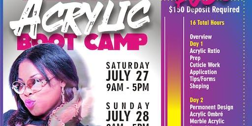 Kiki's Acrylic Boot Camp JULY 2019