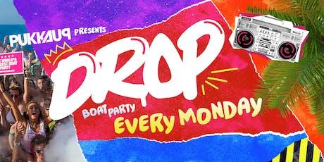 Pukka Up presents DROP Hip Hop & RnB Boat Party entradas