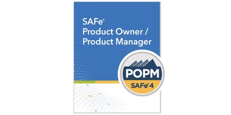 SAFe v4.6 Product Owner/Manager Training n Certification class (weekend) tickets