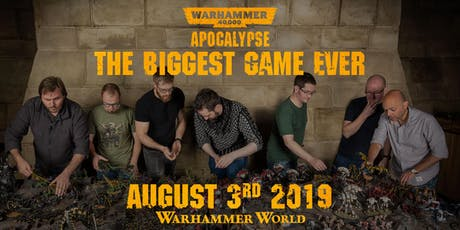 Warhammer World Record Day - Biggest Battle tickets