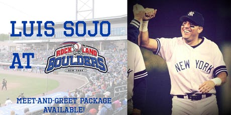 Luis Sojo Meet and Greet Package tickets