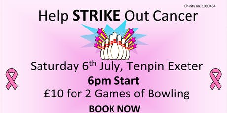 Go Pink , Tenpin Exeter's 2nd Annual Fundraiser for Cancer Research tickets