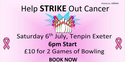 Go Pink , Tenpin Exeter's 2nd Annual Fundraiser for Cancer Research