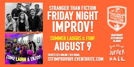 Stranger Than Fiction Friday Night Improv! tickets