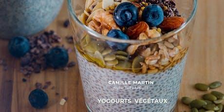 Yogourts végétaux maison; délices fermentés! tickets
