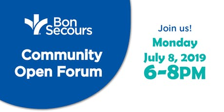 Community Open Forum  tickets