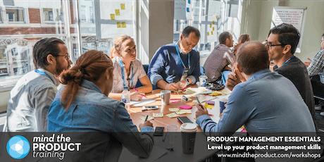 Product Management Essentials Training Workshop - Seattle  tickets