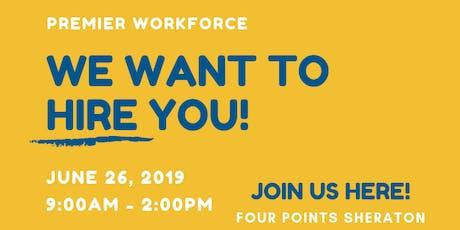 Premier Workforce Hiring Event tickets